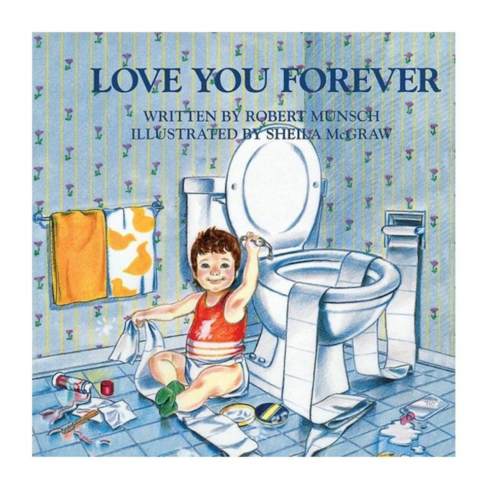 """<p><strong>$4.o0 <a class=""""link rapid-noclick-resp"""" href=""""https://www.amazon.com/Love-You-Forever-Robert-Munsch/dp/0920668372/ref=sr_1_1?tag=syn-yahoo-20&ascsubtag=%5Bartid%7C10050.g.35033274%5Bsrc%7Cyahoo-us"""" rel=""""nofollow noopener"""" target=""""_blank"""" data-ylk=""""slk:BUY NOW"""">BUY NOW</a></strong></p><p><strong>Genre:</strong> Children's</p><p>Written in memoriam to the author's two stillborn children, this childhood classic captures the evolving relationship between parent and child. It follows a mother and son through the years, and depicts her unconditional love for him despite the challenges that come with youth, adolescence, and adulthood.</p>"""