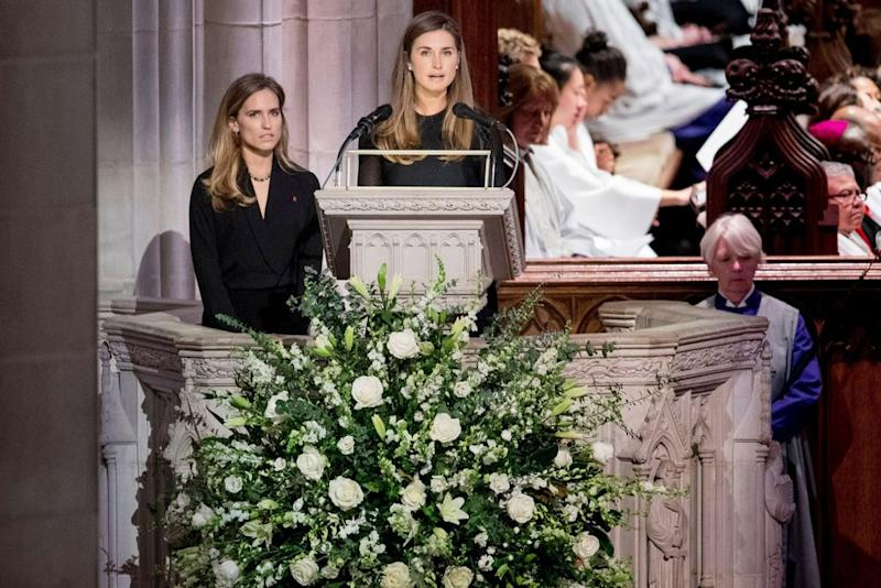 Lauren Bush Lauren and Ashley Walker Bush