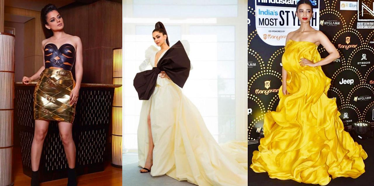 From Kangana to Deepika, slide on to check out the worst dressed celebs of this year.