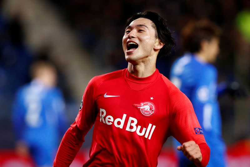 Liverpool closing in on Salzburg's Japanese forward Minamino