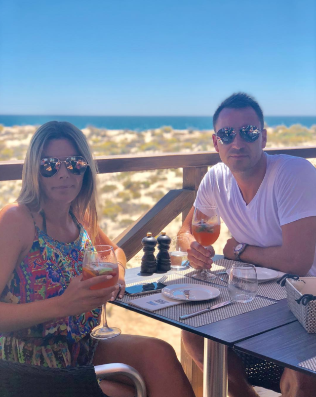 John Terry is on holiday in the Algarve (Instagram)