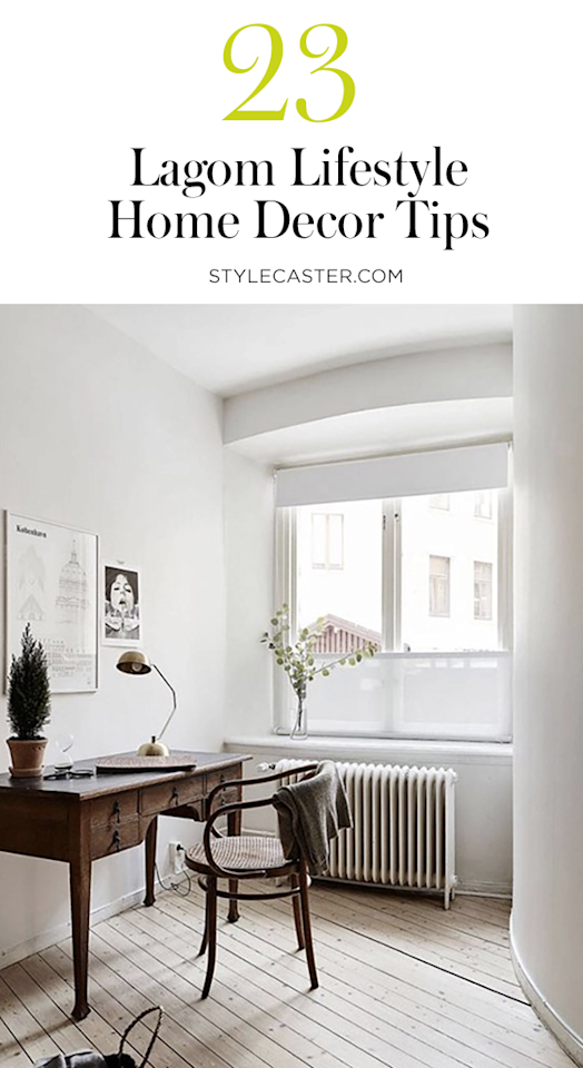 23 Ways to Infuse Your Home with Lagom, Hygge's Little Sister | @stylecaster