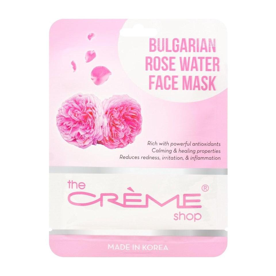 """<p>Honesty hour: Until now, I wasn't a sheet mask enthusiast. My first thought was """"Is this necessary?"""" when Google told me I needed to add a 10 to 15 minute step smack in the middle of an already 10-step long routine. In the end, it was beyond worth it. Not only is it insanely soothing taking a moment to lie down with just my <span>The Crème Shop Bulgarian Rose Water Face Mask</span> ($3) and meditation music, but I feel I can attribute much of my skin's newfound plumpness to this deep hydration. I also experimented with Korean beauty brand <span>107 Beauty's Essence-Soaked Sheet Mask</span>, and am equally into both options.</p>"""