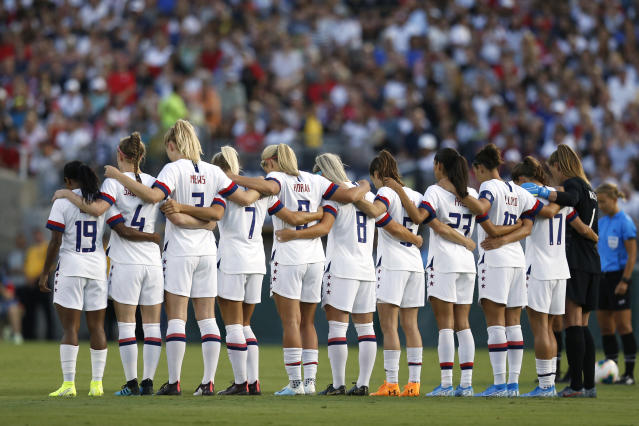 The USWNT is in excellent shape at the moment. Now, Kate Markgraf must work to ensure it stays that way. (Getty)