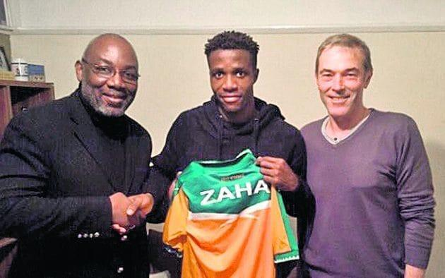 <span>Zaha has come in for some criticism for opting to represent Ivory Coast rather than England</span>