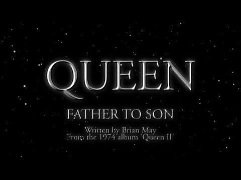 """<p>Fathers and son everywhere can definitely rock out to this big, dramatic anthem by Queen, which talks about passing wisdom down through generations. </p><p><a class=""""link rapid-noclick-resp"""" href=""""https://www.amazon.com/Father-To-Son-Remastered-2011/dp/B005CZSPLE/?tag=syn-yahoo-20&ascsubtag=%5Bartid%7C10055.g.19673259%5Bsrc%7Cyahoo-us"""" rel=""""nofollow noopener"""" target=""""_blank"""" data-ylk=""""slk:ADD TO YOUR PLAYLIST"""">ADD TO YOUR PLAYLIST</a> </p><p><a href=""""https://www.youtube.com/watch?v=4hytYgRmzTs"""" rel=""""nofollow noopener"""" target=""""_blank"""" data-ylk=""""slk:See the original post on Youtube"""" class=""""link rapid-noclick-resp"""">See the original post on Youtube</a></p>"""