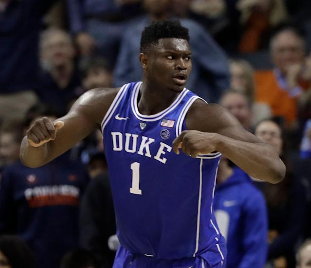 N.C. Central's reward for a win in the First Four would be a date with Zion Williamson. (AP)