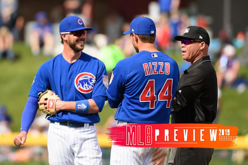 The Cubs vs. the computers is one of the top MLB storylines of 2019. (Getty Images)