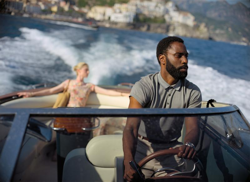 John David Washington and Elizabeth Debicki in a scene from Christopher Nolan's 'Tenet' (Photo: Warner Bros. / Courtesy Everett Collection)
