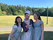 """<p>""""MOOD. Merry Christmas!!!!!! @bridgertonnetflix is finally out TODAY on @netflix ✨💫🐝 hope you guys enjoy it half as much as we loved shooting it ❤️,"""" Phoebe Dynevor wrote. <br> </p><p><a href=""""https://www.instagram.com/p/CJN3XruhF41/?utm_source=ig_embed"""" rel=""""nofollow noopener"""" target=""""_blank"""" data-ylk=""""slk:See the original post on Instagram"""" class=""""link rapid-noclick-resp"""">See the original post on Instagram</a></p>"""