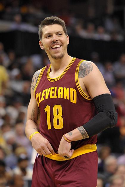 Could David Blatt call Mike Miller from the end of the Cavs' bench? (AP/Brandon Dill)