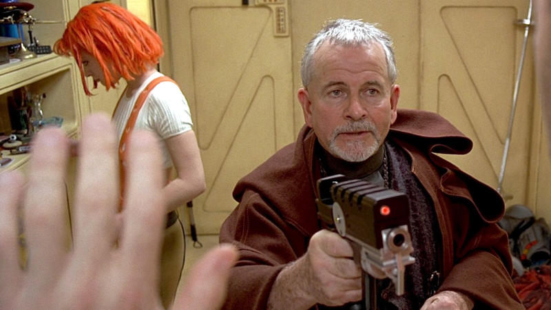 Ian Holm in 'The Fifth Element'. (Credit: Gaumont/Buena Vista)