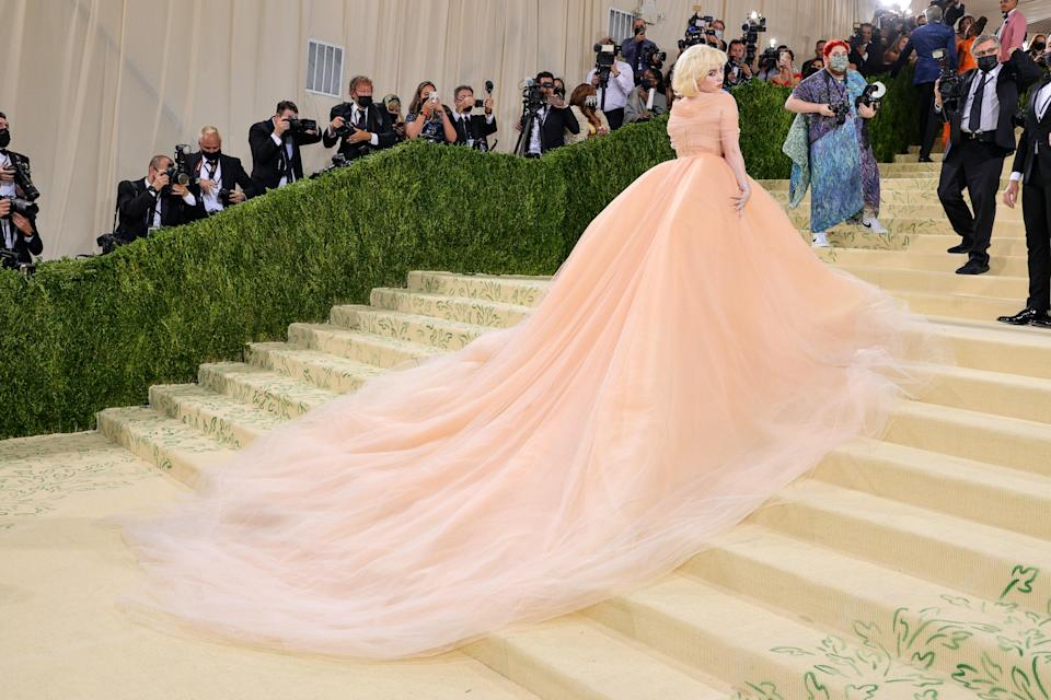 """<h1 class=""""title"""">Billie Eilish, The 2021 Met Gala Celebrating In America: A Lexicon Of Fashion - Arrivals</h1><cite class=""""credit"""">Getty</cite>"""