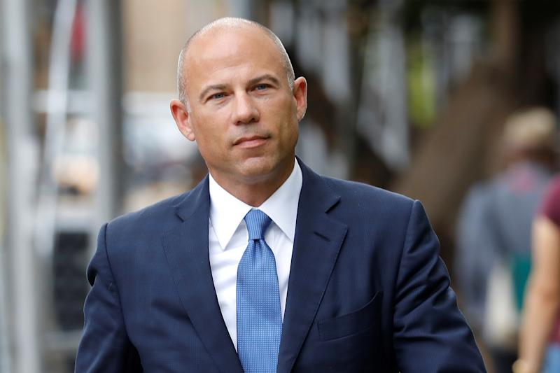 Attorney Michael Avenatti arrives at United States Court in the Manhattan borough of New York City, New York, U.S., July 23, 2019. REUTERS/Mike Segar