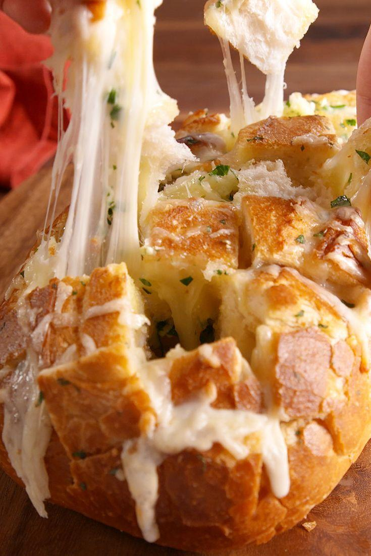 """<p>All we want in life is bread and cheese.</p><p>Get the recipe from <a href=""""https://www.redbookmag.com/cooking/recipe-ideas/recipes/a49850/cheesy-garlic-pull-apart-bread-recipe/"""" rel=""""nofollow noopener"""" target=""""_blank"""" data-ylk=""""slk:Delish"""" class=""""link rapid-noclick-resp"""">Delish</a>.</p>"""