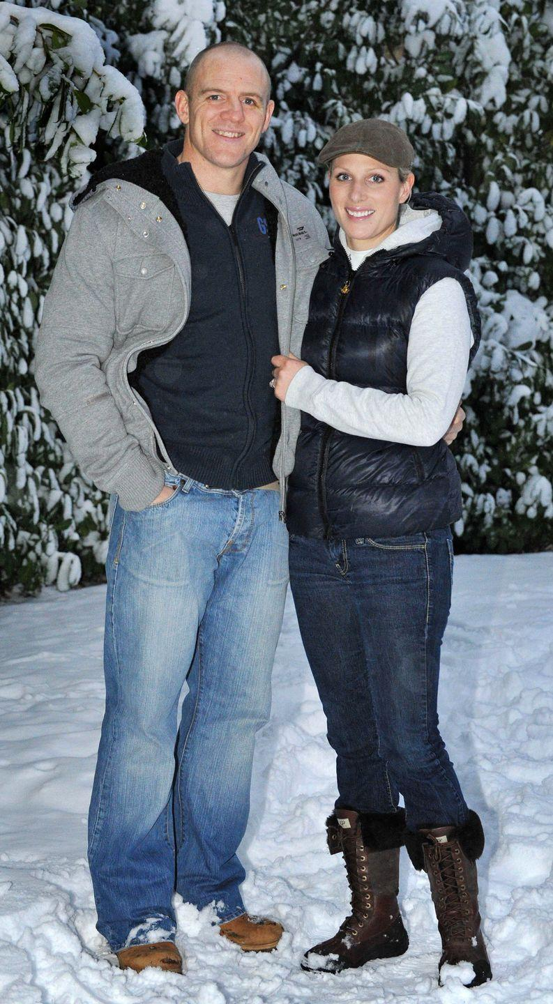 <p>Zara Phillips met her fiancé, Australian rugby player Mike Tindall, in 2003. The couple announced their engagement in 2010 and married the following year. </p>