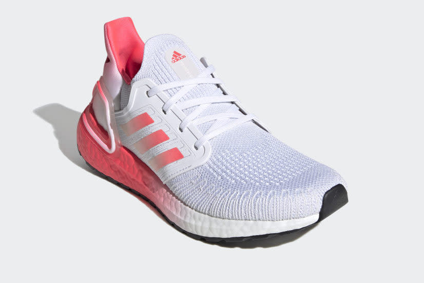 Save 30% this pair of Adidas Ultraboost 20 shoes this week only.