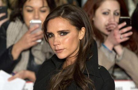 """Former Spice Girls singer Victoria Beckham attends the world premier of the film """"The Class of 92"""" in London"""