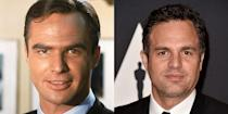 <p>Sure, Mark Ruffalo and Burt Reynolds are both immensely talented and notoriously laid-back actors, but they also share the same jawline. </p>