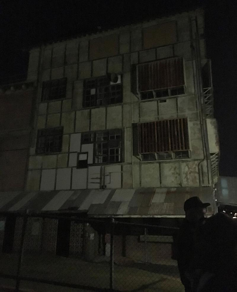 The abandoned buildings definitely boost the tour's ghostly atmosphere. Photo: Supplied