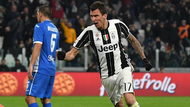 Barcelona's weakness on the right of defence means Juventus forward Mario Mandzukic could prove as important as more celebrated team-mates.