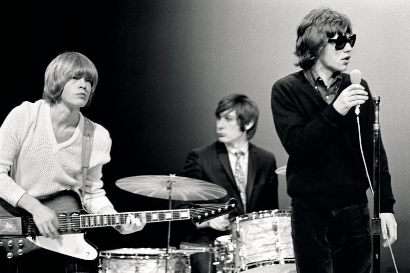 Rare Rolling Stones pics to be shown at rock hall