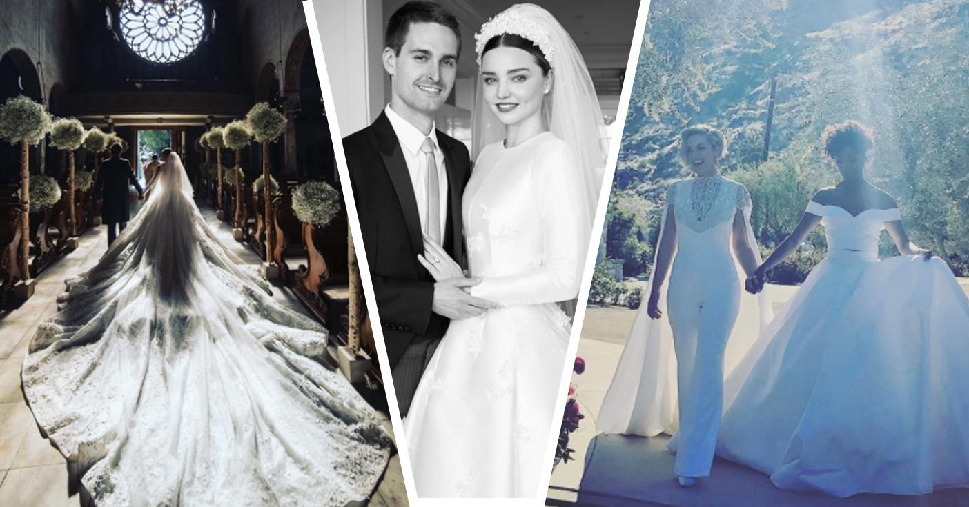 Miranda Kerr Marries Snapchat Founder In Custom Couture Dior Wedding