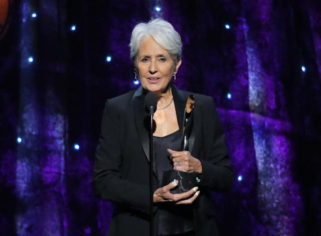Joan Baez Rock And Roll Hall