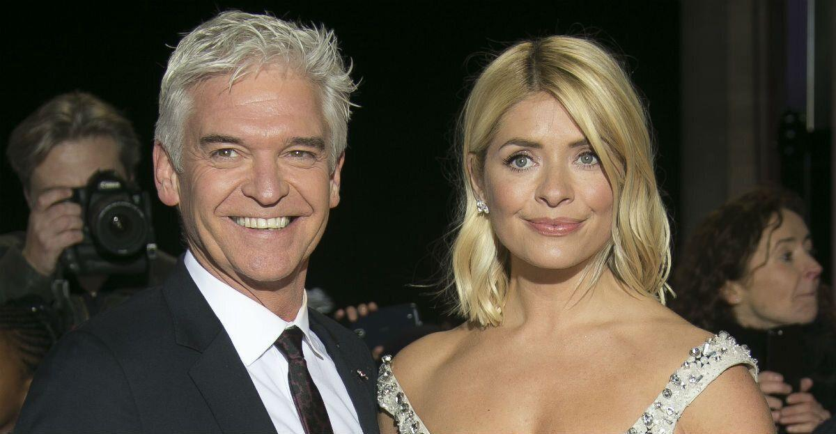Phillip Schofield filmed Holly Willoughby swearing when she lost her husband Dan Baldwin (Photo by Joel C Ryan/Invision/AP)
