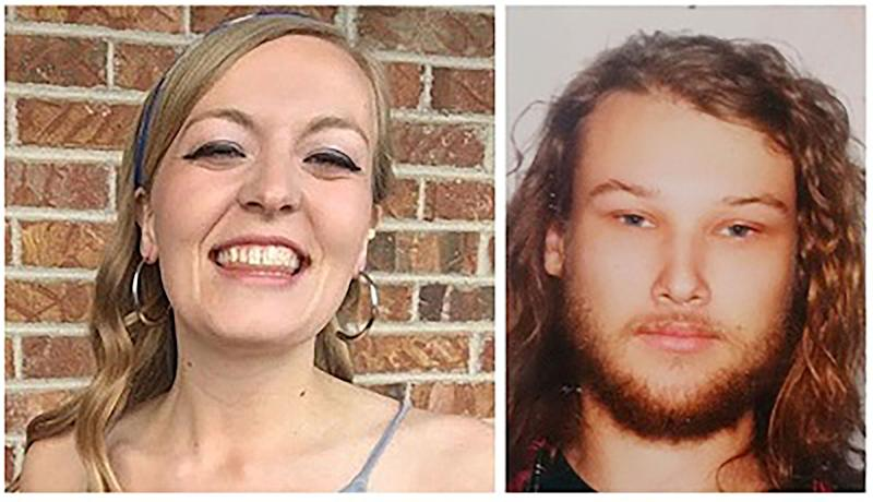 Victims Chynna Deese and Lucas Fowler. (Photo: Reuters)