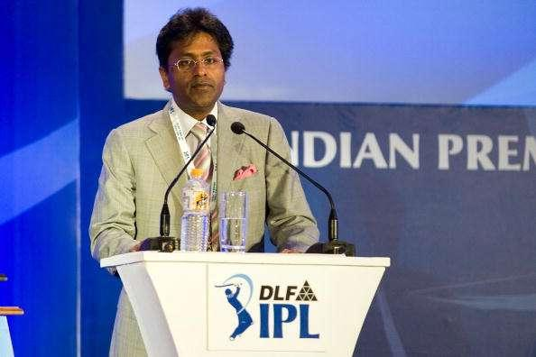 MUMBAI, INDIA - JANUARY 19: Mr. Lalit Modi, Chairman and Commissioner of Indian Premier League, attends the IPL Auction 2010 on January 19, 2010 in Mumbai, India. (Photo by Ritam Banerjee/Getty Images)