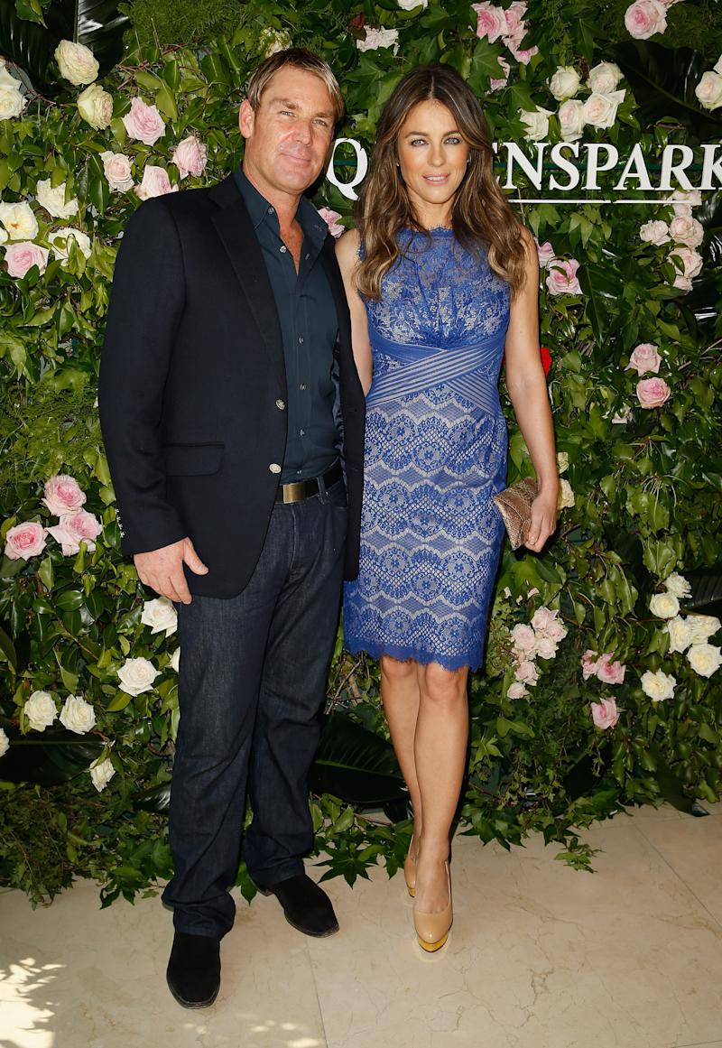 Shane famously went on a health kick during his relationship with Liz Hurley. Photo: Getty