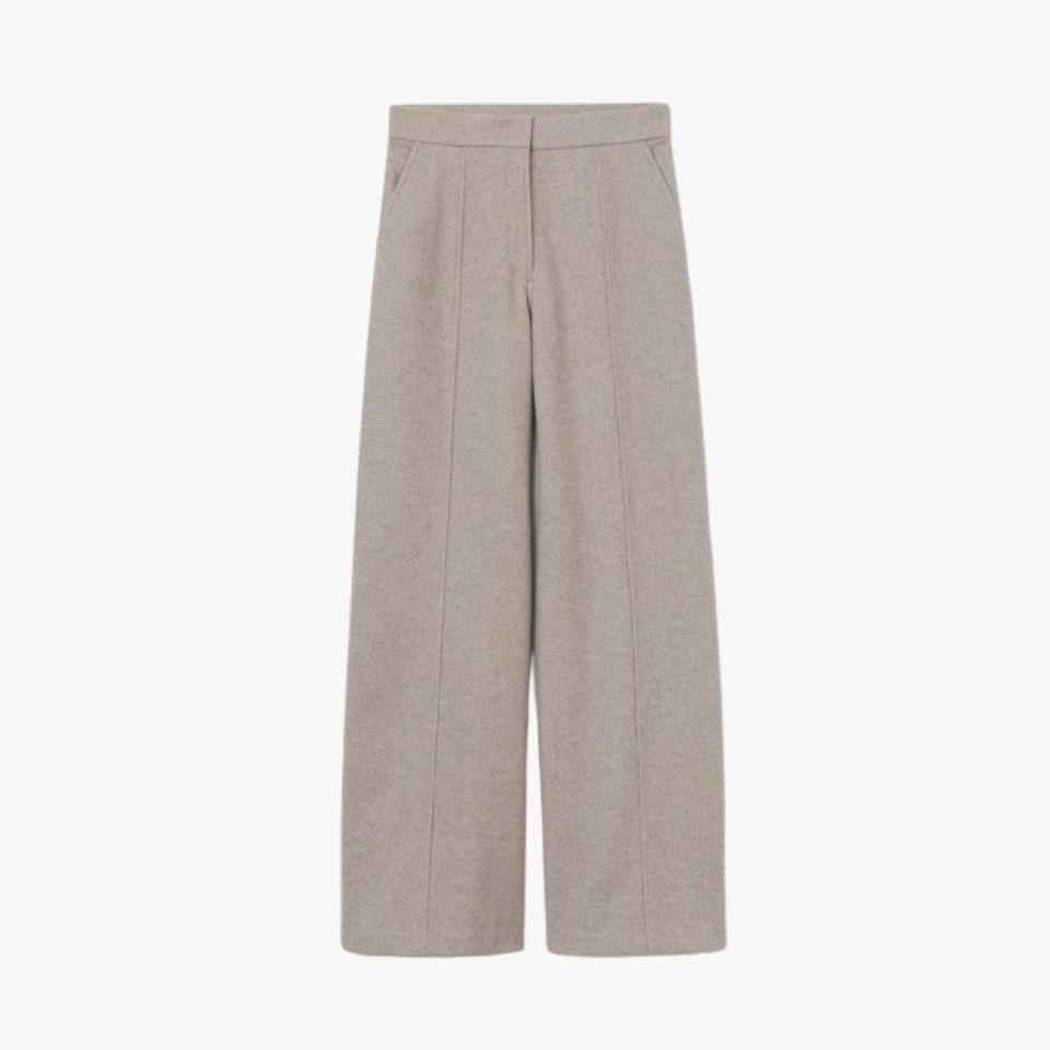 """Breathe some new life into your work wardrobe with these affordable, oversized pants by H&M. $50, H&M. <a href=""""https://www2.hm.com/en_us/productpage.0937667002.html"""" rel=""""nofollow noopener"""" target=""""_blank"""" data-ylk=""""slk:Get it now!"""" class=""""link rapid-noclick-resp"""">Get it now!</a>"""