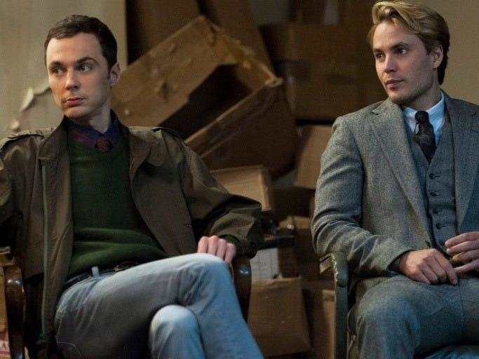"""Jim Parsons and Taylor Kitsch played activists in """"The Normal Heart."""""""