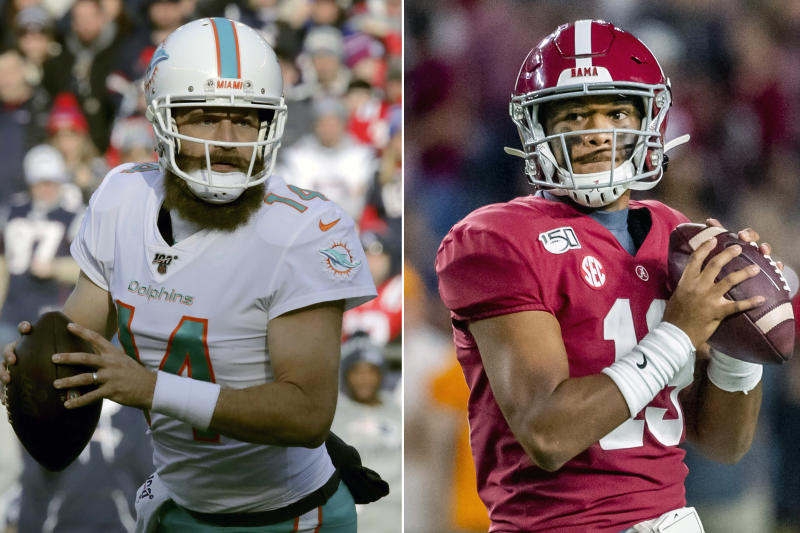 Dolphins QB Fitzpatrick says he and Tua have hit it off