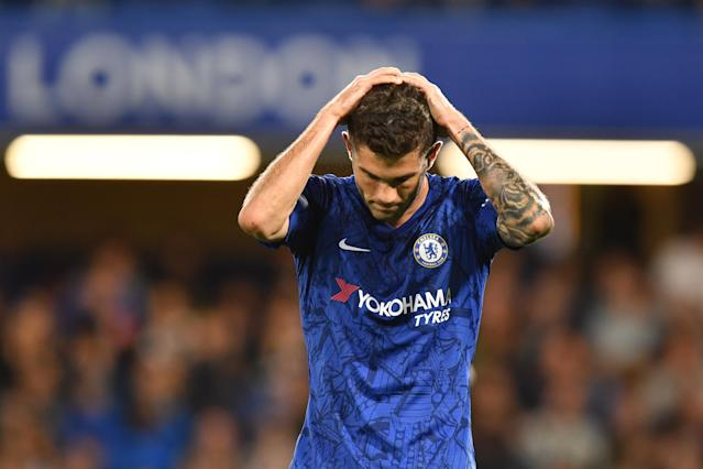 Christian Pulisic is going through a frustrating spell in his first season with English titan Chelsea. (Olly Greenwood/Getty)