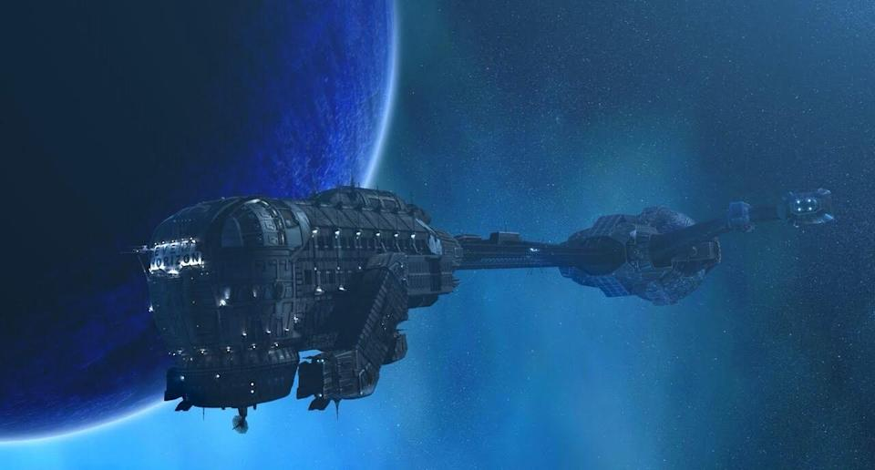 The ship itself from Event Horizon.