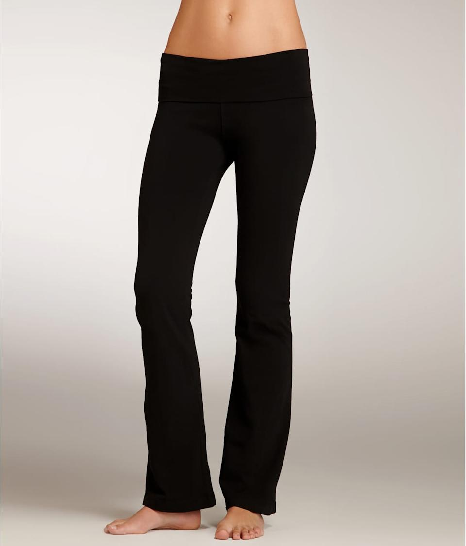 Hard Tail Rolldown Boot Leg Yoga Pants & Reviews | Bare Necessities (Style  330)