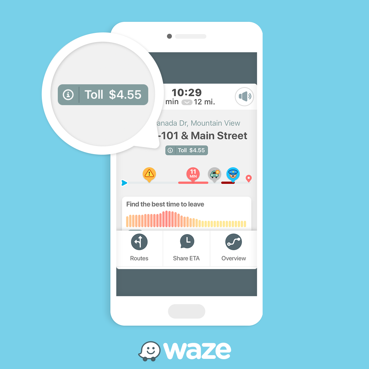 Waze Update Willl Show Toll Road Prices