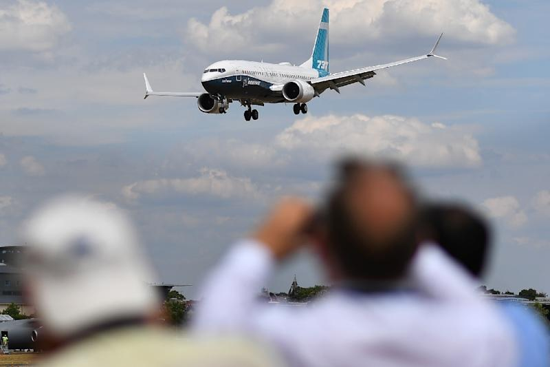 Governments around the world are grounding Boeing 737 Max aircraft or barring them from their airspace (AFP Photo/BEN STANSALL)