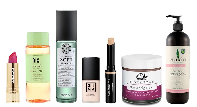 How many vegan skincare and beauty brands are you familiar with? [Photo: Courtesy]