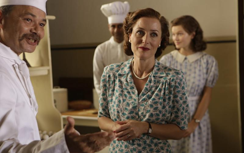 The actress as Lady Mountbatten in Viceroy's House - Credit: Pathe UK