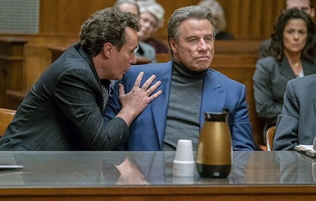 Travolta plays the iconic Mafia boss in the upcoming flick. Source: Lionsgate