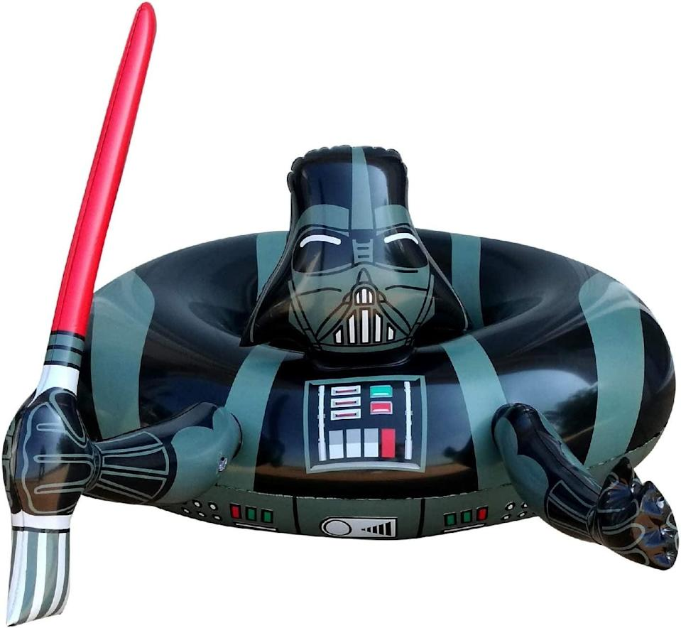 <p>Embrace the dark side with the <span>Nino Star Darth Vader Pool Float</span> ($30). It has a fun lightsaber detailing that we love!</p>