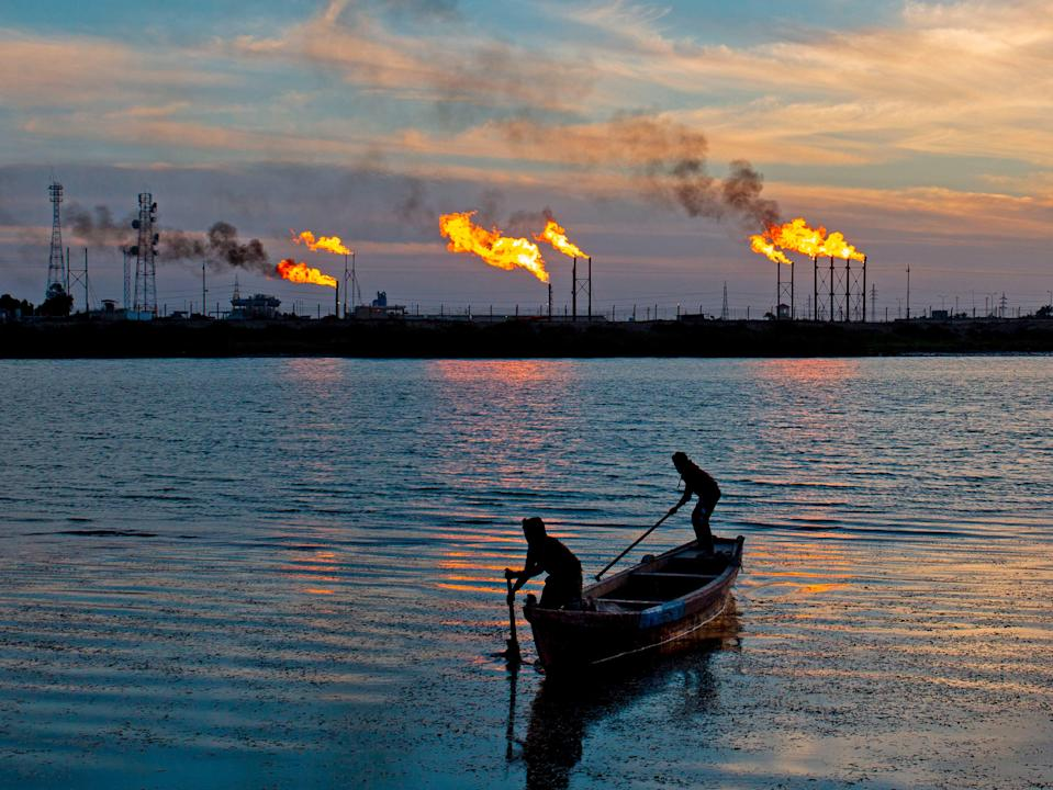 Gas produces methane, which is even more damaging than carbon dioxide (AFP via Getty Images)
