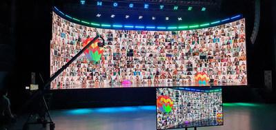 Whether you are trying to promote social distance or cut down geographic distance, Surge brings audiences safely and cost effectively together for a wide range of promotable, interactive experiences. Our platform has been used for corporate meetings, concerts, sports, festivals, TV and fashion shows, even religious gatherings.