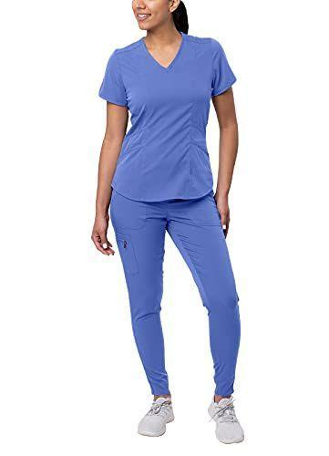 """<p><strong>Adar Uniforms</strong></p><p>amazon.com</p><p><strong>$57.99</strong></p><p><a href=""""https://www.amazon.com/dp/B0864S5GWK?tag=syn-yahoo-20&ascsubtag=%5Bartid%7C2140.g.37024950%5Bsrc%7Cyahoo-us"""" rel=""""nofollow noopener"""" target=""""_blank"""" data-ylk=""""slk:Shop Now"""" class=""""link rapid-noclick-resp"""">Shop Now</a></p><p>All the passion of<em> Grey's</em>, with maybe half the drama. Feel free to add fake blood splatter to be extra realistic.</p>"""