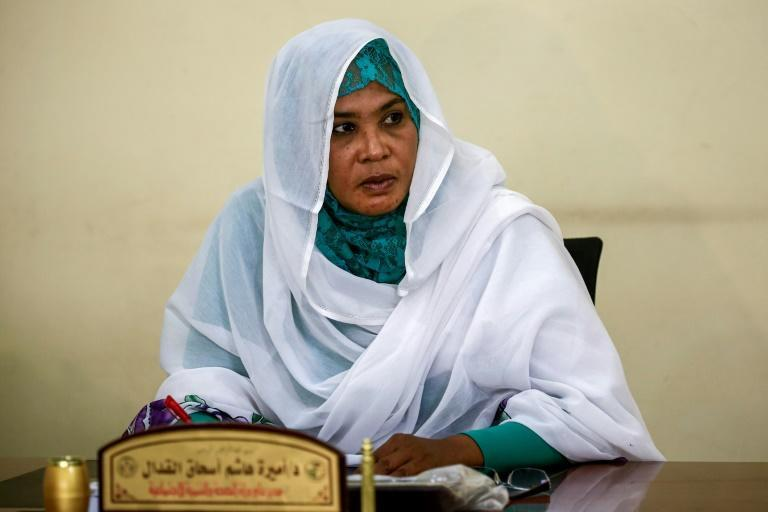 Amira Elgadal, director general of health and social development in Sudan's eastern Gedaref province, says she is appalled that the trees are being felled