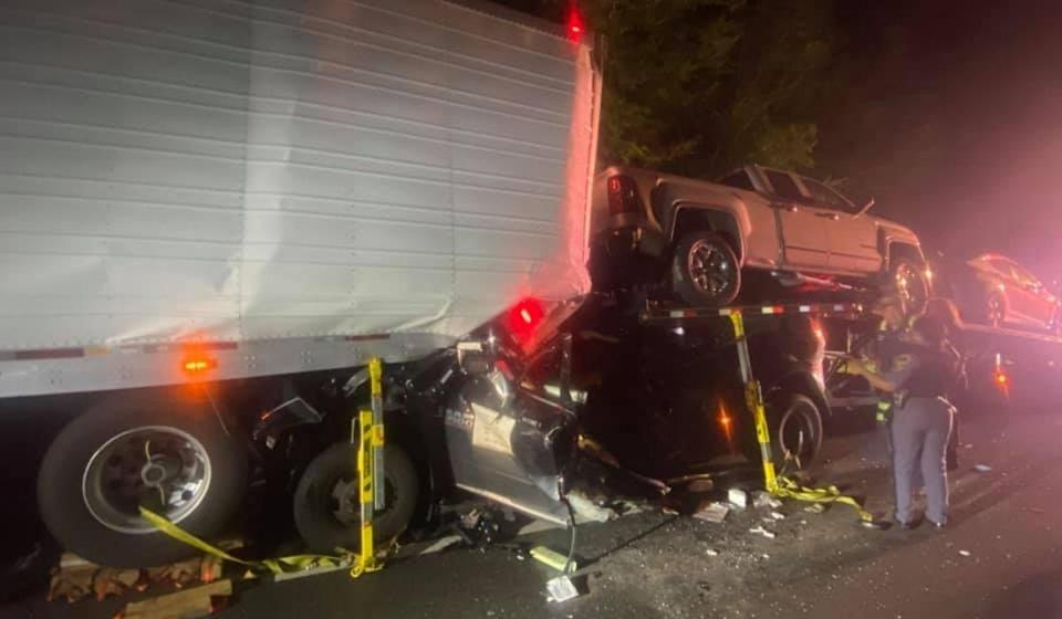 Incidente stradale South Hill