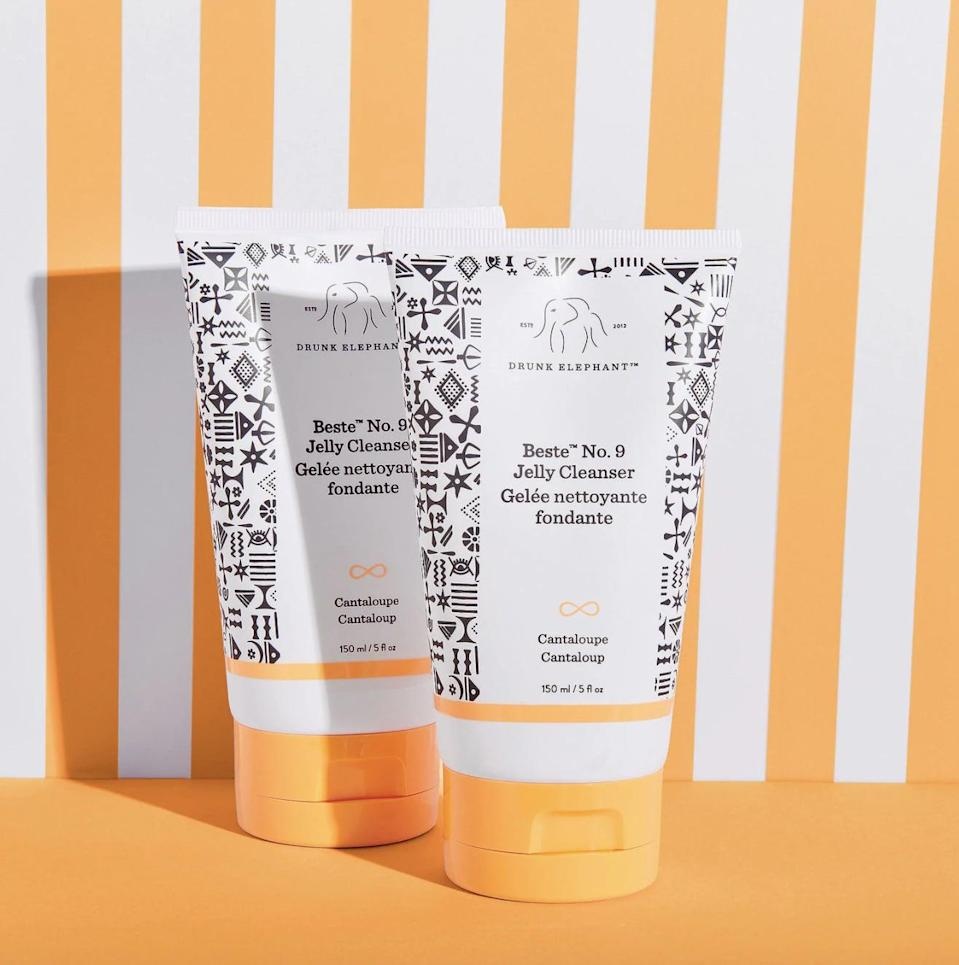 <p>Finding a clean face wash that actually works is a lot easier said than done. This <span>Drunk Elephant Beste No. 9 Jelly Cleanser</span> ($32) is one of my top picks, because it actually takes my makeup off and without stripping my skin of its natural moisturizer. If you have sensitive skin, then it's definitely a solid choice, because it's 100 percent free of essential oils, silicones, and fragrance.</p>